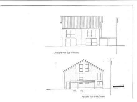 2 neue, hochwertige Doppelhaushälften mit 198/221m² Grund u. 142m² Wfl. - Kfw55-Standard
