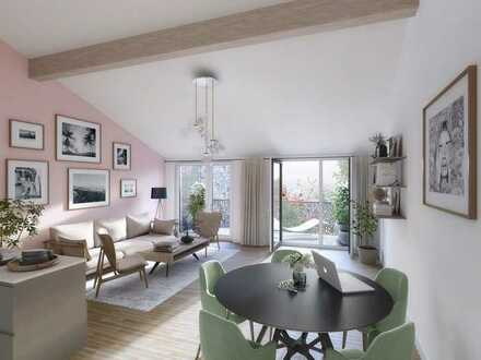 Großzügige 5-Zimmer Maisonettewohnung mit Terrasse, Gartenanteil und Balkon *Effizienhaus 55*