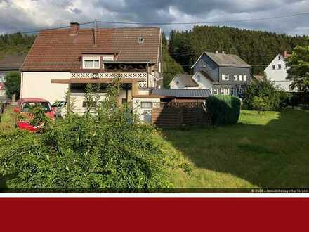 Einfamilienhaus für handwerklich begabte - mit Garage, Balkon und Gartenhaus