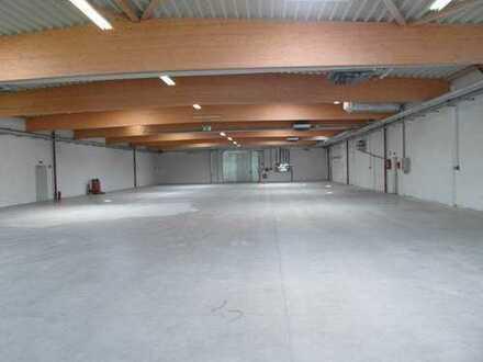 Logistikhallen 1.200 m2 + 1500 m2 + Büro 90 m2 mit GLASFASERANSCHLUSS