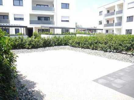 Neubau 2018: 3-Zimmer-Wohnung mit eigenem Garten