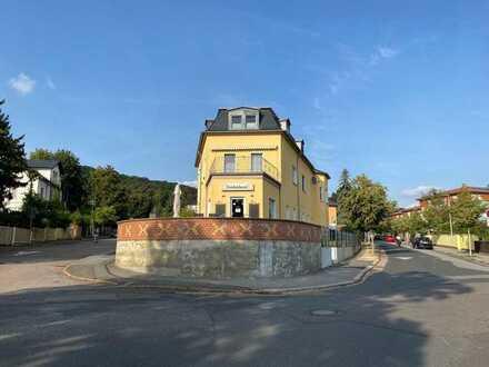 Wohn- und Geschäftshaus (Bäckerei) in hervorragender Lage oberhalb Radebeul-West
