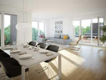 Wunderschönes Penthouse mit großer Dachterrasse und Loggia - Erstbezug!