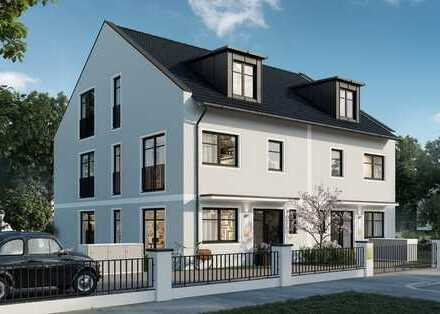 Neubau DHH in Milbertshofen Am Hart mit 8 Zimmern, 207m² Wohnfläche und großem Garten