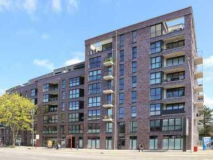 Hochwertige 3-Zimmer-Neubauwohnung mit 2 Balkonen nahe des Stadtparks gelegen zu vermieten