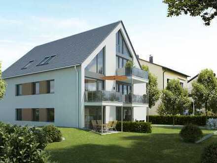 GANZ OBEN : idylische Maisonettenwhg. mit Dachterrasse und sonnigem Balkon