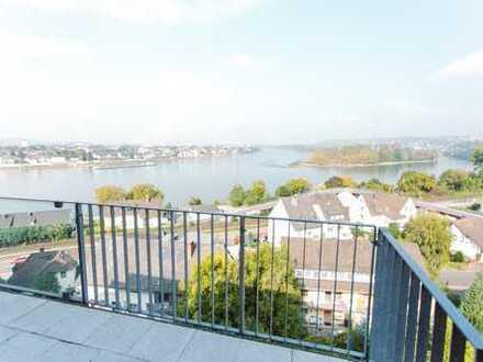 moderne 3,5 Zimmer Maisonette-Whg. mit EBK, Balkon und Traumblick