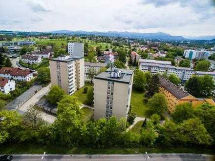Vermietete 2 Zimmer Eigentumswohnung mit Balkon zur Kapitalanlage