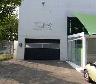 Kfz-Werkstatt mit repräsentativer Bürofläche & ges. 14 Stellplätzen