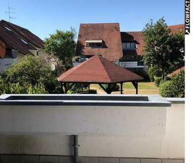 Helle 2 Zimmer Wohnung mit Balkon und Blick ins Grüne