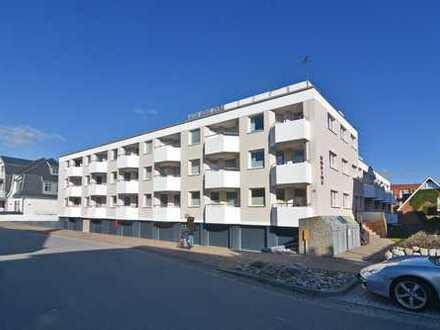 2-Zimmer-Wohnung in Strandlage mit Westbalkon, Garage und Kellerraum