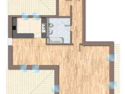 1-Zimmer-LOFT-Dachgeschoßwohnung in Altlandsberg