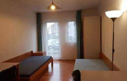 1 ZKBB möbliertes Appartment in Mannheim-Rheinau - provisionsfrei