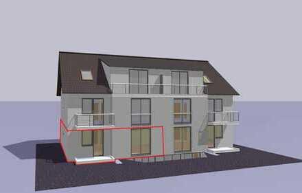 3 Zimmer Wohnung im Neubau zu vermieten
