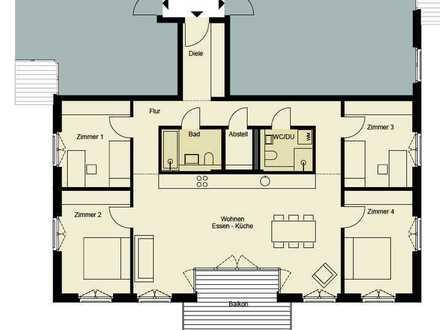 0172-3261193, Familienwohnung mit 4 bis 5 Zimmern, Gäste Bad, Balkon und Loggia
