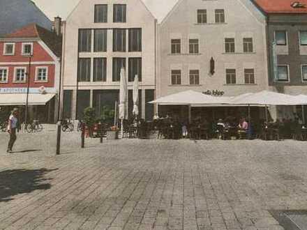Geschäftshaus Neubau gr.Verkaufs-, Büroflächen ev. Wohnungen2x ca.160m² keine Gastronomie - Zentral