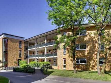 Wohnen am Kanal: 2-Zimmerwohnung mit Balkon im EG!Barrierefrei und Fahrstuhl!Sehr ruhige Wohnlage!