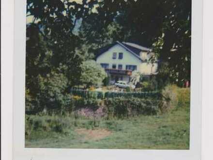 Idyllisch - Zweifamilienhaus mit eigenem Wald direkt am Haus im Sensbachtal