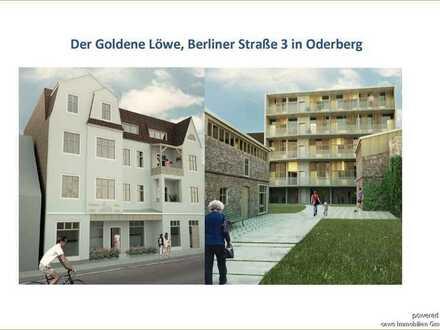 Im Überblick: ETW mit Aufzug und Wintergarten, Südseite mit Blick aufs Wasser in Oderberg