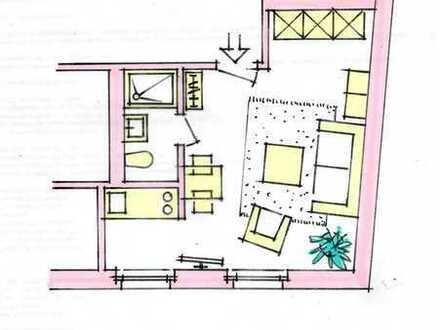 ****Möbliertes Appartement in zentraler Lage - perfekt****