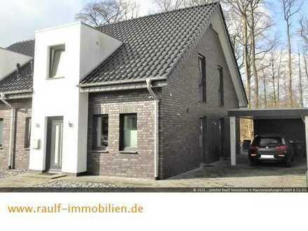 Moderne Doppelhaushälfte in ruhiger, naturnaher Wohnlage