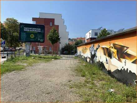 Baugrundstück für ein Mehrfamilienhaus in Leipzig-Reudnitz