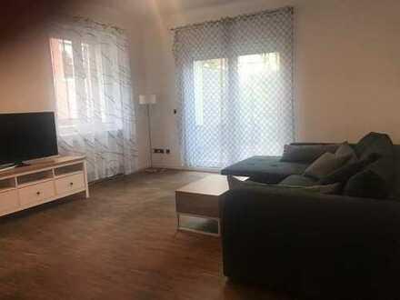 Möblierte 2-Zimmer-Innenstadt-Wohnung mit großer Küche und Balkon