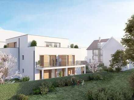 ++ NEUBAU! Moderne, energieeffiziente 4 ZKB Wohnung mit Balkon im 1.OG in Weinberglage! ++