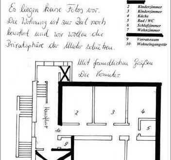 Schöne, gepflegte 4-Zimmer-EG-Wohnung zur Miete in Köln Worringen im historischen Altbau