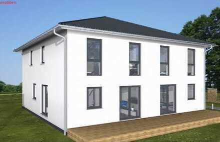 """Doppelhaushälfte: Energie-""""Speicher-Plus""""-Haus 125 qm Wfl. in KFW 55, Mietkauf/Basis ab"""