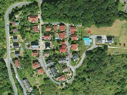 Großzügiges Grundstück - stadtnah in ruhiger Lage mit Talblick