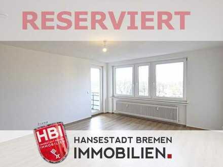 Huchting / Kapitalanlage / Modernisierte 3-Zimmer-Wohnung mit großer Sonnenloggia