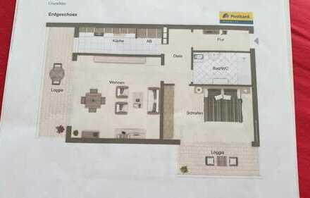 Freundliche 2-Zimmer-Wohnung mit 2 Balkone in Mönchengladbach-Odenkirchen