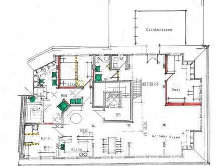 Großzügige Penthouse Maisonette Wohnung Ortsmitte Dettingen