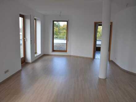 Dachterrasse und Muensterblick, 2-Zimmer-Wohnung Ulm