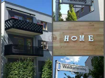 Stadtvilla im Wohnpark Grünau: top 4-Zimmer-Wohnung mit riesiger Terrasse