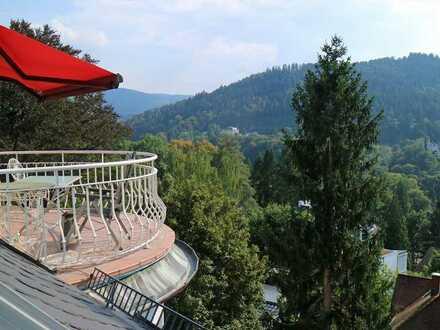 Geräumige und erschwingliche Wohnung mit fünf Zimmern in Baden-Baden