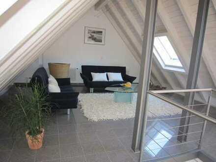 Exklusive DG WHG 4.5 Zi. mit Balkon, 2 geschossig mit Galerie, Sommerseite