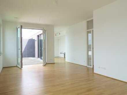 Moderne Penthouse-Wohnung mit zwei Dachterrassen - 3 Zi, 102 qm