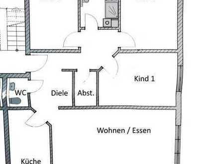 Gepflegte 4 Zi. Whg. mit Balkon in 6-Fam. Haus in Straubenhardt