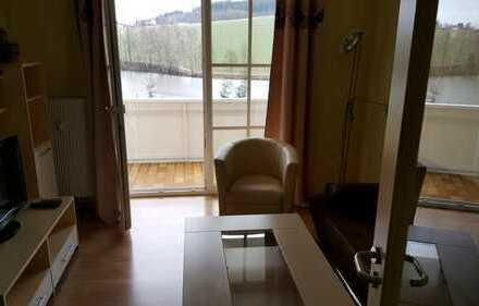 Nachmieter gesucht: 23,5 qm Apartment vollmöbliert +Balkon+Freisitz im Turm / Residenz am See