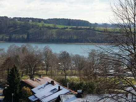 2-Zimmer-Wohnung in Taching am See mit herrlichem Seeblick