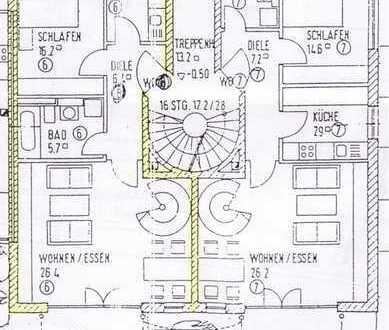 3-Zimmer Maisonette Wohnung mit Garten. Direkt vom Vermieter!