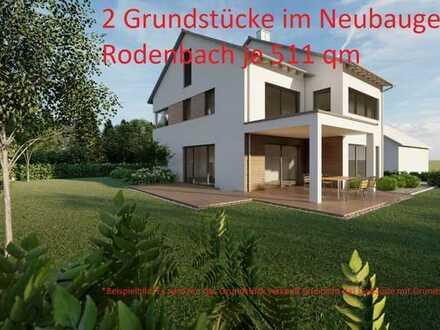 2 Grundstücke im Neubaugebiet Rodenbach / Hanau