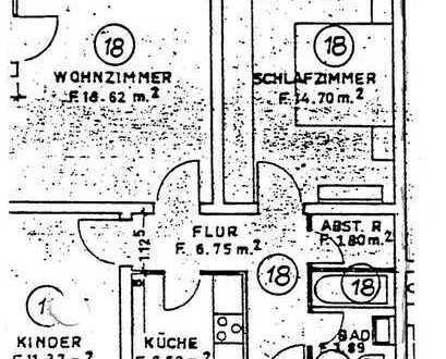 Sanierte 3-Zimmer-Wohnung mit Balkon und EBK in Biberach (Kreis)