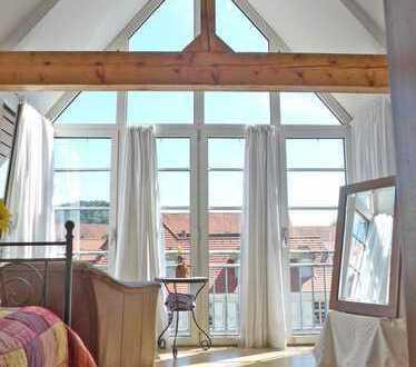 5971 - Wohnen im Herzen der Durlacher Altstadt! Traumhafte Wohnung mit 2 Bädern und kleinem Balkon!