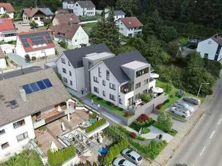 Durchacht geschnitten! 2,5-Zimmer-Neubau-Eigentumswohnung mit kleiner Grünfläche