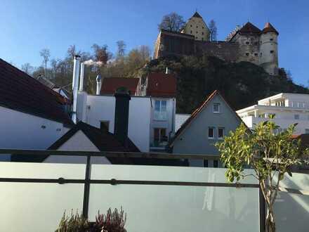 4-Zimmer-Maisonettewohnung in der Heidenheimer Innenstadt! WOHNEN mit Schlossblick