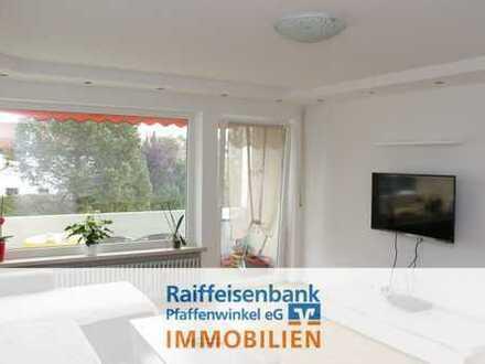Schongau: Renovierte 3-Zimmerwohnung mit Ausblick!