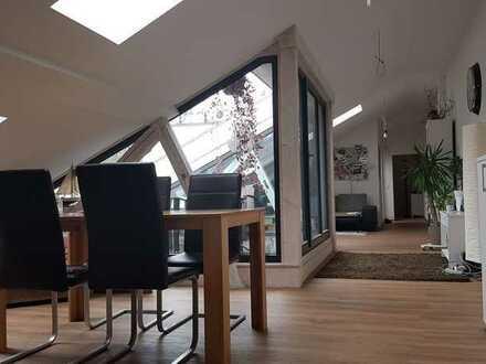 Außergewöhnliche 75m² Loftwohnung direkt an der Itz mit über 100m² Bodenfläche